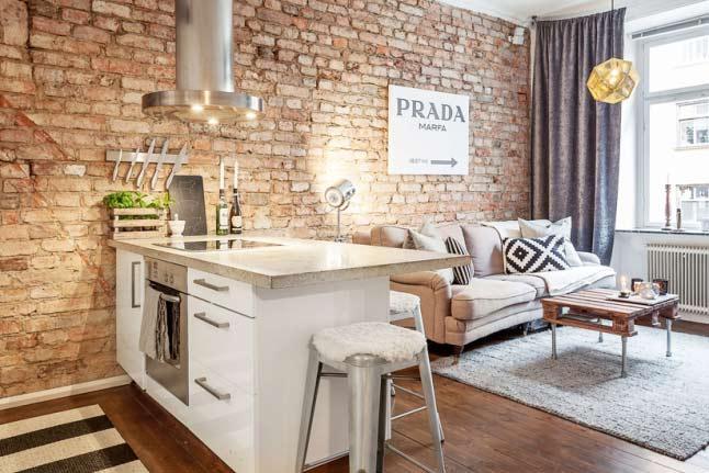 5 pautas para enriquecer una vivienda de 45 metros