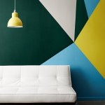 Reformas: Pintar paredes geométricamente